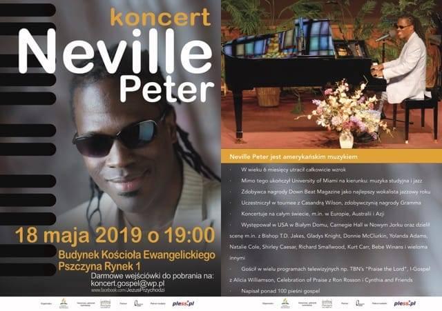 Koncert Neville Peter
