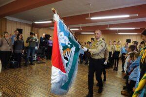 Nadanie Sztandaru Chorągwi Południowej ZHA
